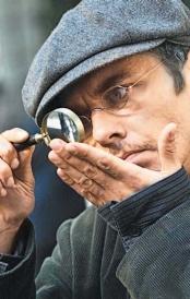 Игорь Петренко в роли Шерлока Холмса