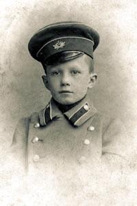 Сергей Фудель — гимназист (1909)