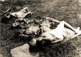 Одна из двух семей замучена ОУН-УПА 16 августа 1943 года