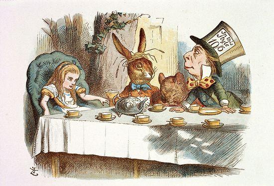 Алиса в стране чудес. Иллюстратор: Дж. Тенниел