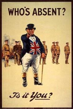 Изображение «Джона Булла» в период Первой мировой войны