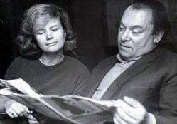 Борис Заходер с супругой Галиной, 1960 г.