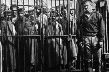 Переправка заключенных на остров Сахалин