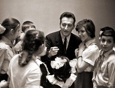 Джанни Родари и советские школьники