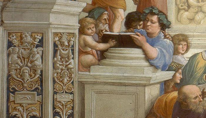 Эпикур. Часть фрески Рафаэля