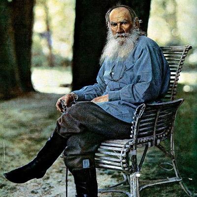 Л. Н. Толстой. 1908 г. Ясная Поляна