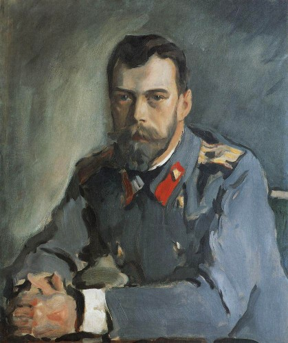 Валентин Серов. Портрет Императора Николая II