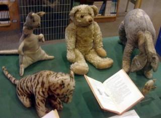 Тигра, Кенга, Пух, Иа-Иа и Пятачок
