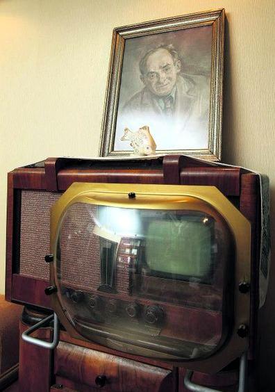 По этому телевизору Остап Вишня смотрел новости