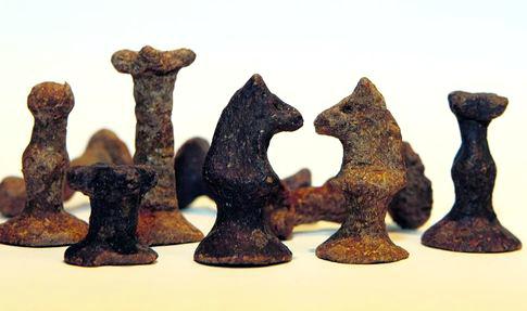 Шахматы из хлеба были сделаны в лагерях