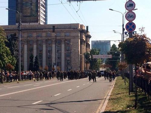 Парад украинских карателей