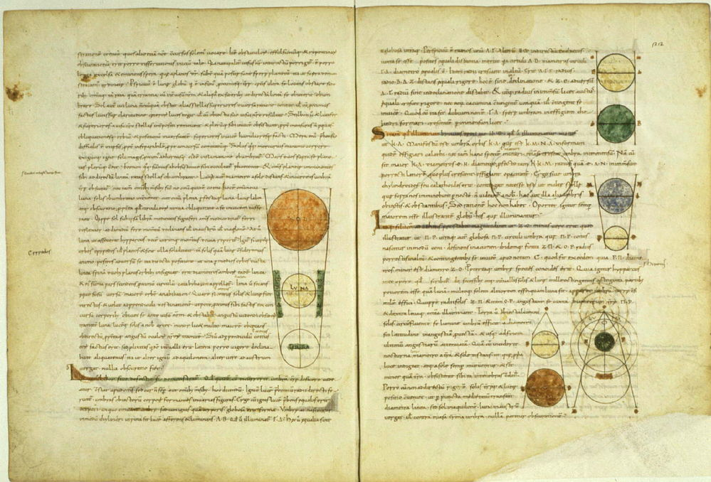 Платон. Средневековая латинская рукопись «Тимея»