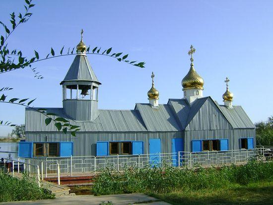 Плавучий храм «Святитель Николай»