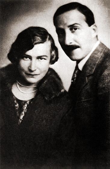 Стефан Цвейг с Фридерикой
