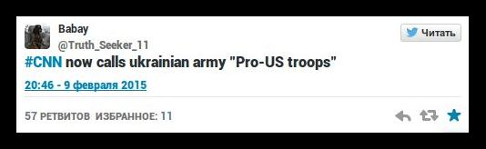 Про-американские украинские войска