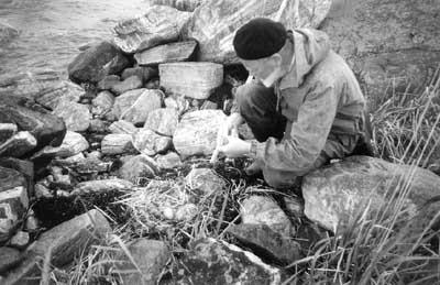 Виталий Витальевич Бианки на Ряшкове, 1994 г.
