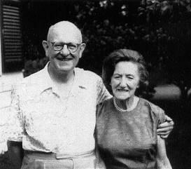 Вудхауз с супругой