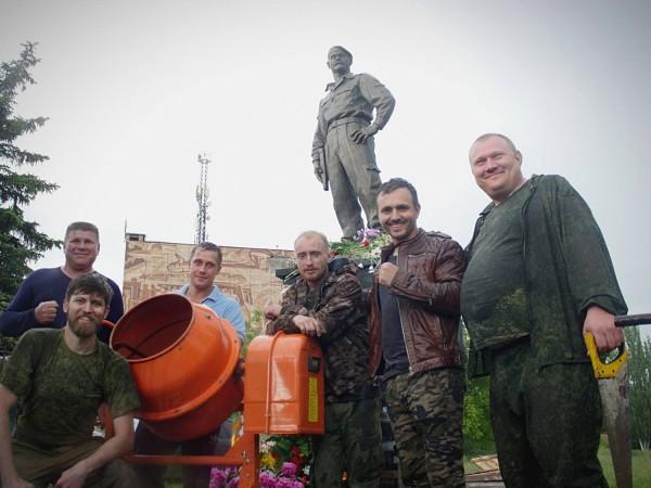 Памятник Алексею Мозговому