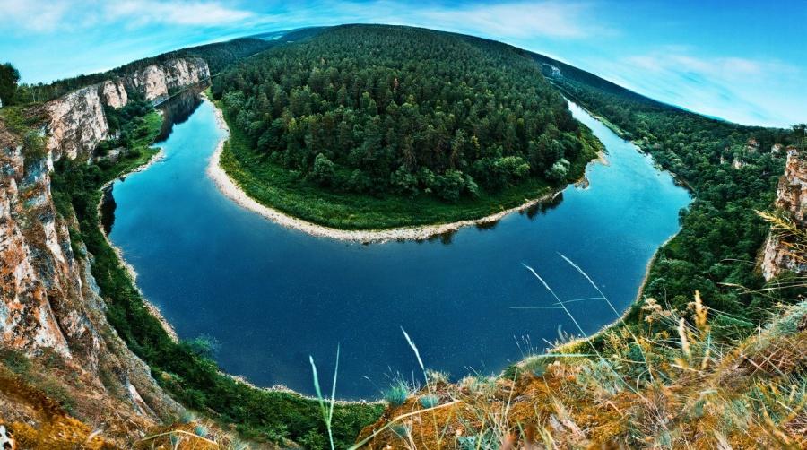 Река Ай на Южном Урале