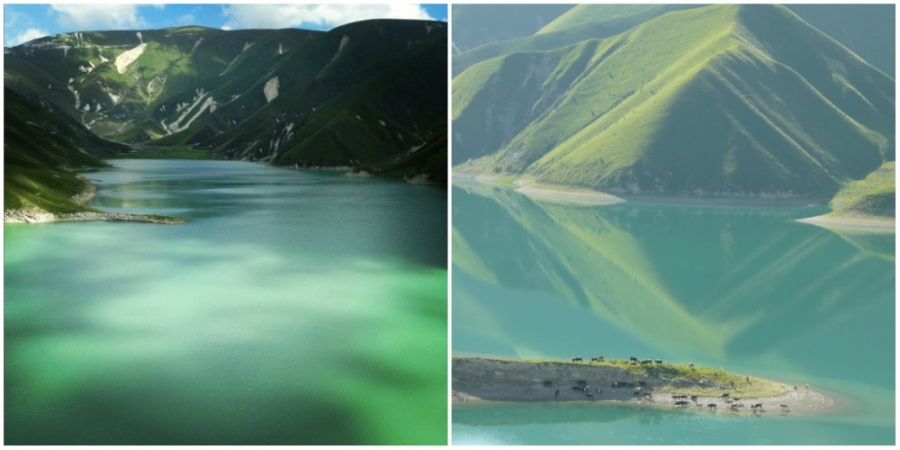 Чеченское озеро Кезеной-Ам (Эйзен)