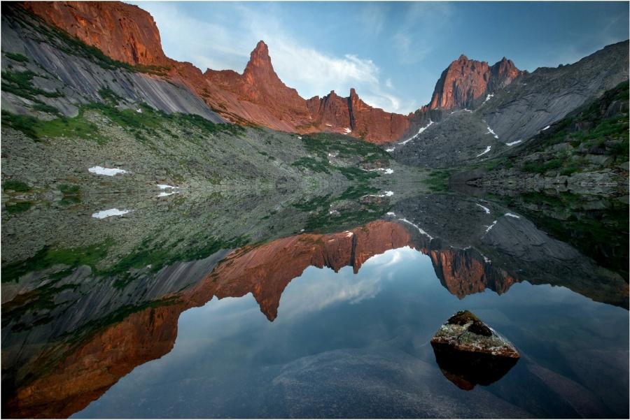 Озеро Горных Духов в Красноярском крае
