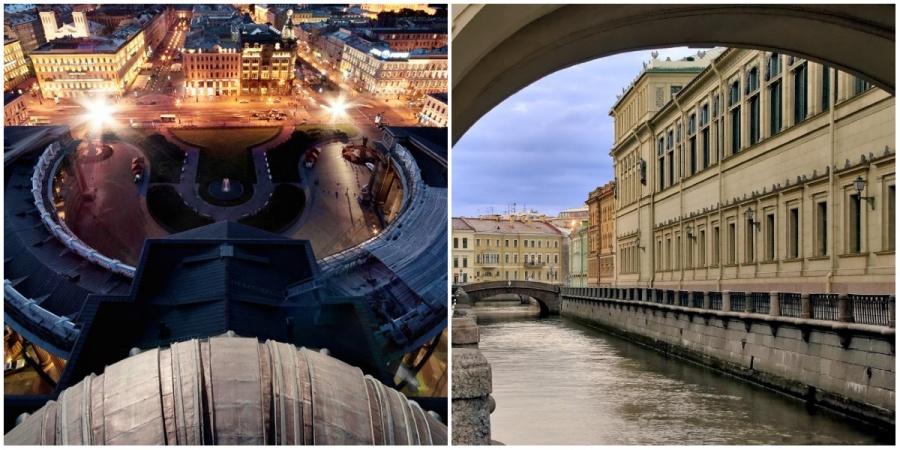 Иногда Санкт-Петербург называют Северной Венецией