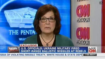 Украина выпустила баллистические ракеты то ли по территории России, то ли по месту падения Boeing 777 — версии разнятся. Об этом сообщил американский телеканал CNN, ссылаясь на пресс-службу НАТО и данные разведки США.