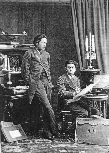 Антон и Николай Чеховы. Февраль 1882 г.