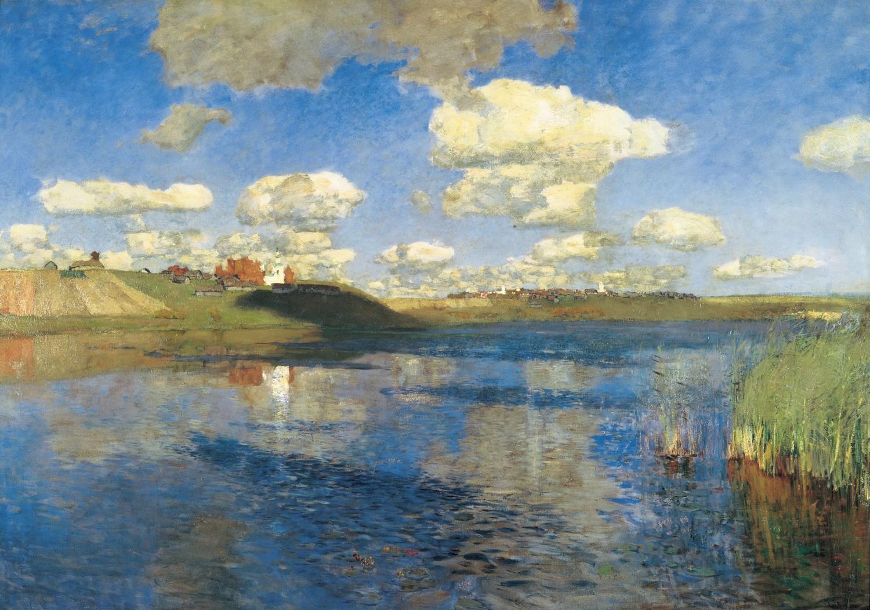 Озеро. Русь. Исаак Левитан