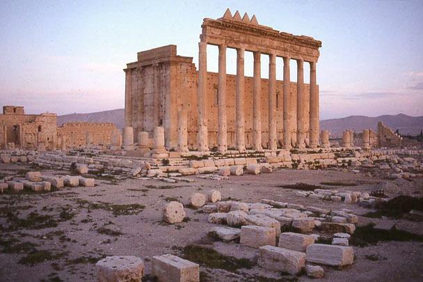 Так выглядел храм Бэла в древней Пальмире в Сирии
