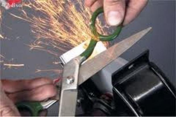 Как поточить ножницы в домашних условиях