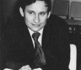 В. Ф. Быков на встрече с космонавтом В.В. Рюминым, 1982 год, г. Комсомольск-на-Амуре