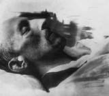 Александр Блок на смертном одре. Фото М.С.Наппельбаума. 8 августа 1921