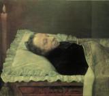 """Александр Козлов — """"Пушкин на смертном одре."""" 1837 г."""