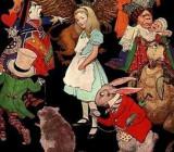 Иллюстрация к рассказу «Алиса в стране чудес»