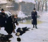 """Илья Репин — """"Дуэль."""" 1901 г."""