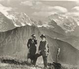 Иван и Наталья Ильины в горах. 1941 г.