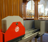 Книжный поезд в Нью-йоркской публичной библиотеке