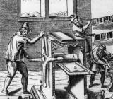 Печатный пресс в 17 веке