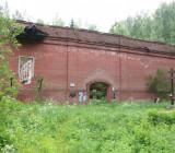 Крест-кенотаф в вероятном месте расстрела Гумилёва