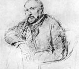 Н.С. Лесков. Рисунок Репина  1888—89 гг.jpg