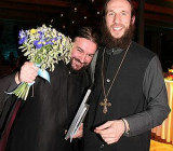 Протоиерей Андрей Ткачев и иеромонах Симеон (Томачинский)