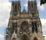 Notre-Dame de Reims (1275). Собор возводили на протяжении 64 лет