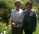 С младшей сестрой Ириной