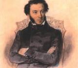 """П.Ф.Соколов — """"Портрет Пушкина"""". 1836 г."""