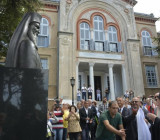 Патриарх Варфоломей открыл памятник самому себе