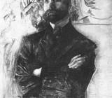 Портрет Брюсова. 1906