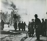 Пожар Рейхстага после поджога, 28 февраля 1933 года, Берлин