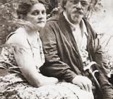 Михаил Пришвин с супругой Валерией