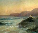 И. Айвазовский — «Пушкин на берегу моря». 1887 г.